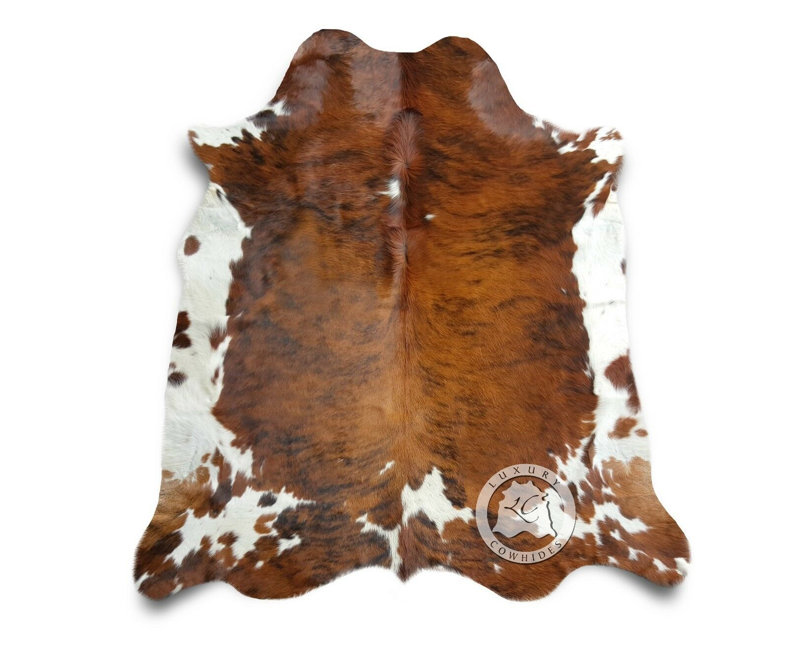 New Cowhide Rug Leather TRIFarbe COLOMBIAN 6'x8' Cow Hide Upholstery Leather