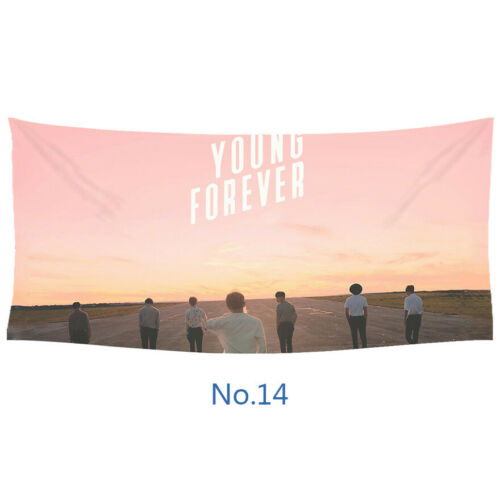 Home Decoration Personality BTS Print Wall Hanging Blanket Parlor Wall Tapestry
