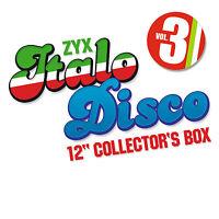 CD Italo Disco 12 Inch Collector s Box 3 von Various Artists 10CDs