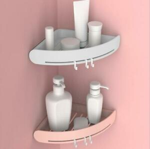 93bc3c6cdcf3 Details about 1pcs Bathroom Corner Space Shelf Storage Rack Soap Shampoo  Storage shelf