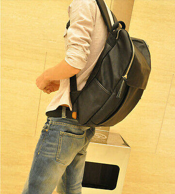 fashion mens casual backpack travel outdoor shoulder computer students bookbag