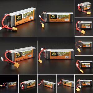 7-4V-11-1V-14-8V-22-2V-500-5000mAh-65C-60C-ZOP-Power-Lipo-Bateria-XT60-T