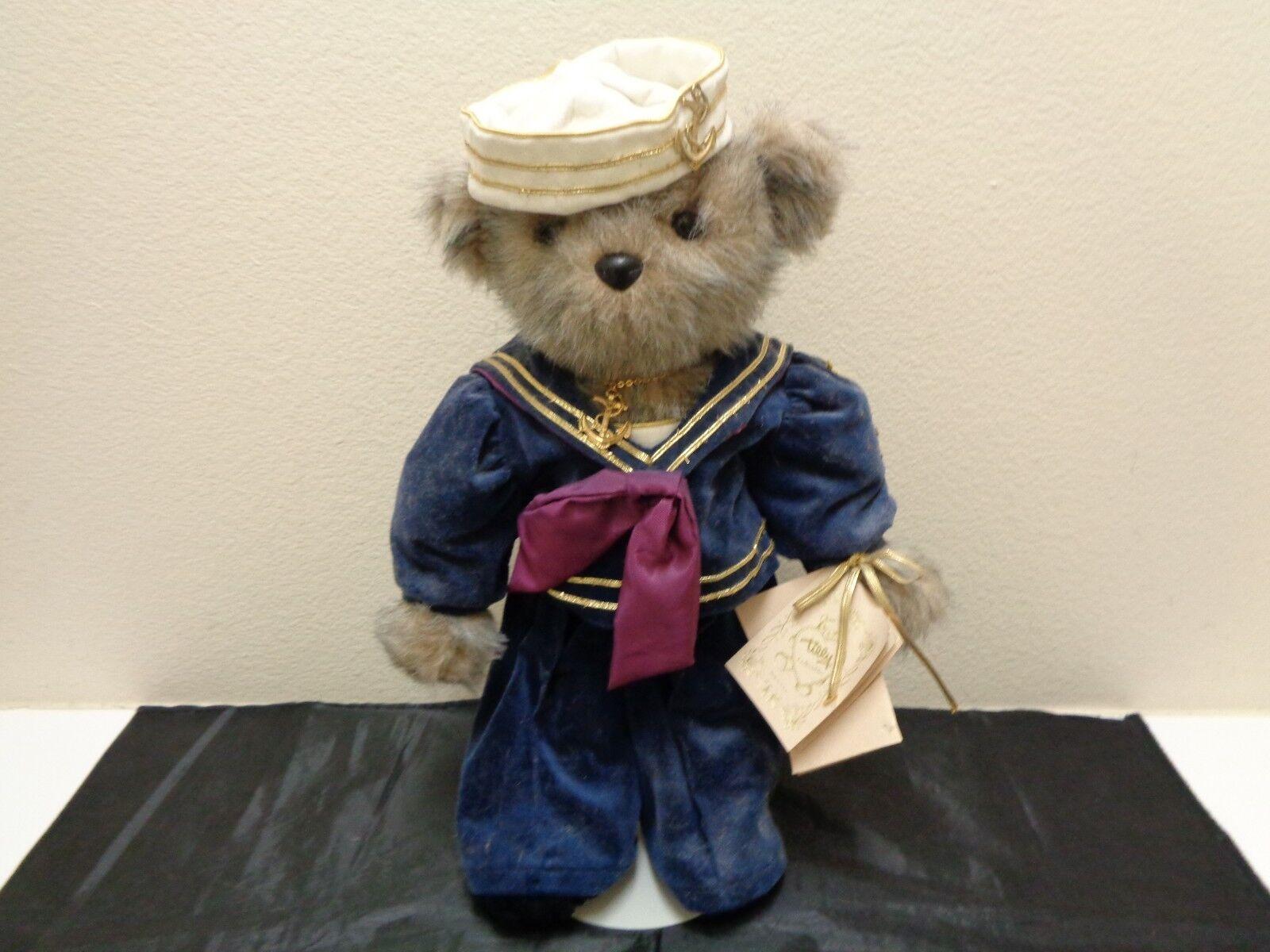 Salty Seabear 1st Class by Tilly Limited Edition Teddy Bear w Tags 1988