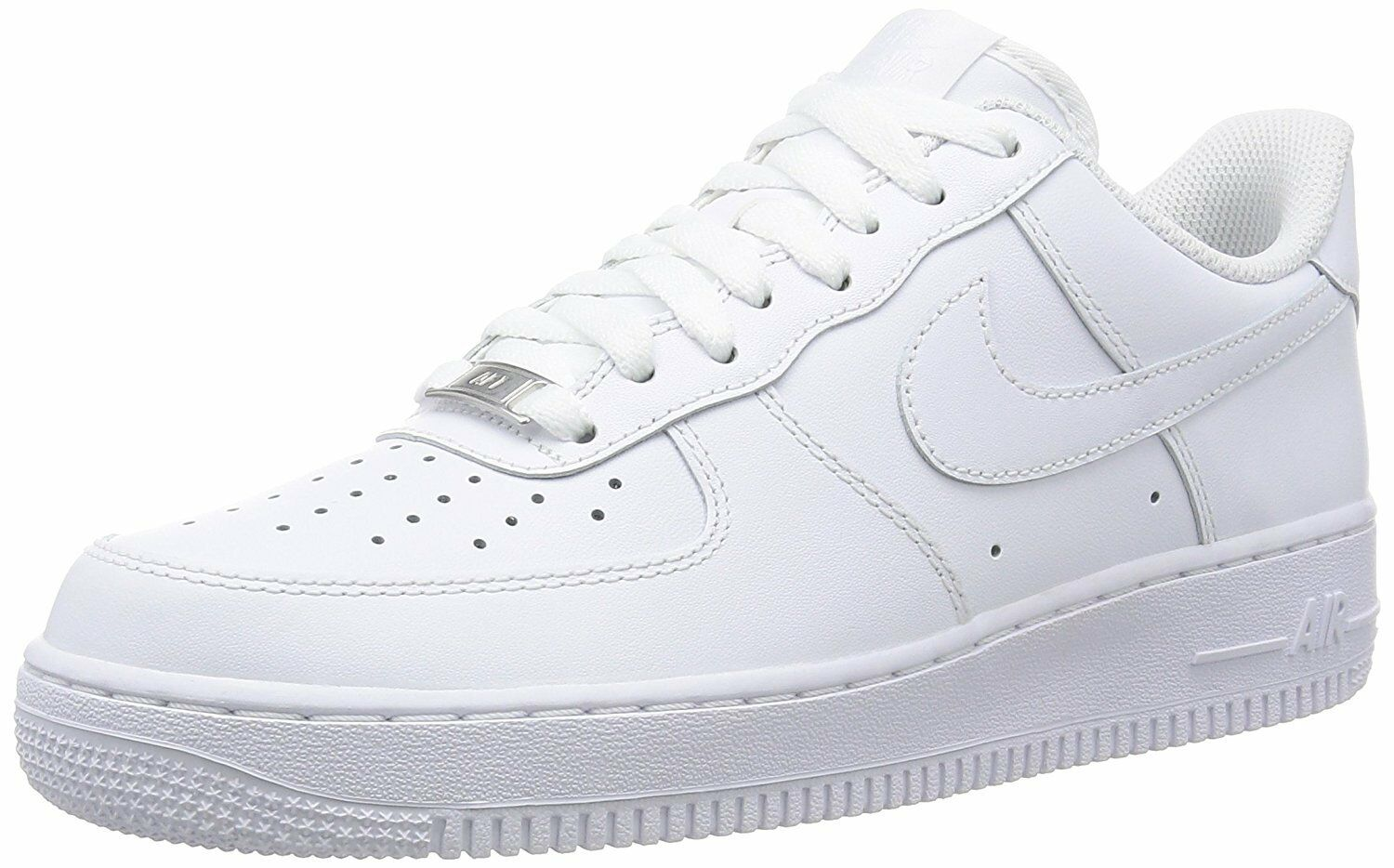 Nike 315122-111: Air Force 1 '07 US Men's Classic White/White Sneaker Wild casual shoes
