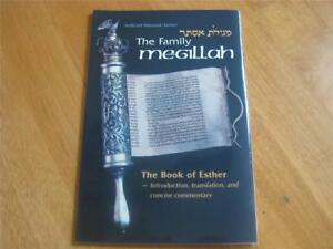 Artscroll-Family-Megillah-Hebrew-English-book-of-Esther-with-concise-commentary