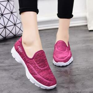 Unisex-Women-Men-Athletic-Breathable-Sneaker-Slip-On-Sports-Casual-Low-Top-Shoes