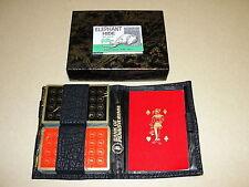 Playing Cards: Bank of Pennsylvania 2 deck Bridge set w/ Vitron Case 1970s New
