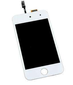 White-Front-Glass-Digitizer-LCD-Screen-Full-Assembly-for-iPod-Touch-4th-Gen-4G