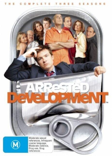 Arrested Development - Complete  three Seasons Boxset (DVD, 2007, 8-Disc Set)