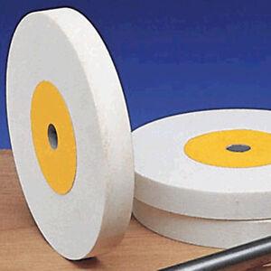"Norton White Aluminum Oxide 100 Grit 6"" Grinding Wheel"
