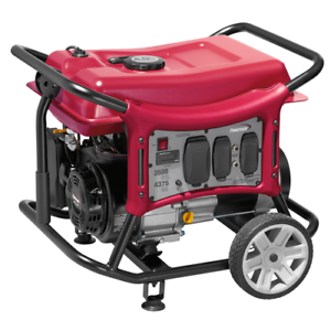 Portable Generator Powermate CX3500 3500W Gasoline 120VAC Recoil Back Up Power