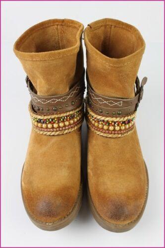 Fauve Daim Neuf Bottines T By Etat Closer Chaussea Boots 36 P1wAnvq4w