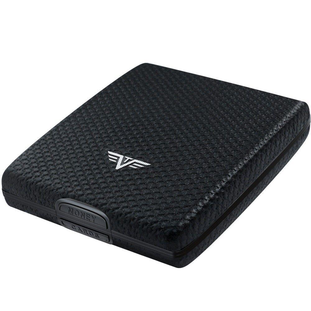 TRU VIRTU Leder Aluminium Aluminium Aluminium Geldbörse - Wallet Krotitkartenetui EC-Karten Etui NEU | Komfort  4d4960