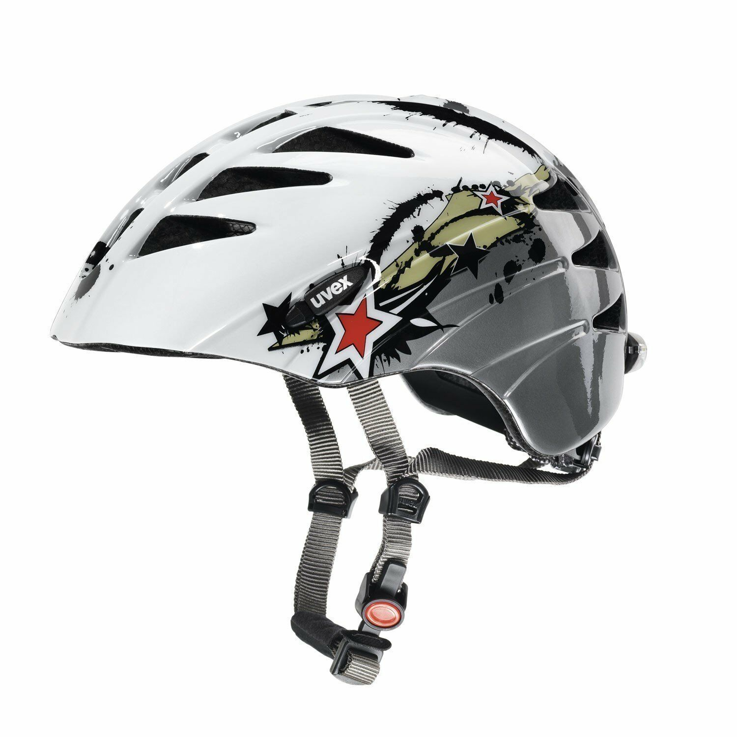 Uvex Junior Splash Casco per bicicletta ERL 52-57 cm - NUOVO