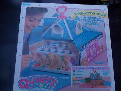 Entusiasta Vintage-tyco-quint Special For 5 House Casa Delle Bambole - 1989-nuovo & Ovp-mostra Il Titolo Originale