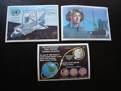 HeißEr Verkauf 50-70% Rabatt Grenade Briefmarke Yvert/tellier Nr z19 Block 217 310 322 N Mnh
