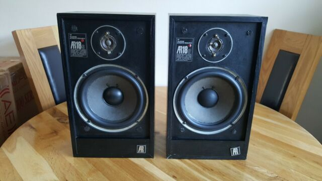 Vintage Acoustic Research Ar 18s Speakers For Sale Online Ebay