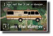 I Am The Danger Maxi Poster 61cm x 91.5cm new and sealed Breaking Bad
