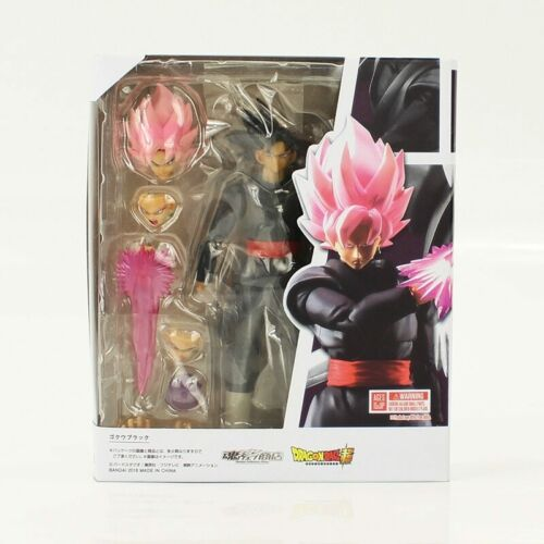 Super Saiyan S.H.Figuarts Black Gokou Zamasu Pink Dragon Ball Z PVC Figure