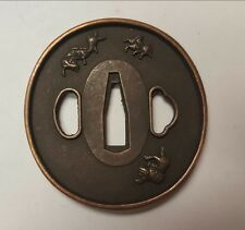 New tsuba, sword fitting for iaito, Katana, Shinken, japanese sword 1