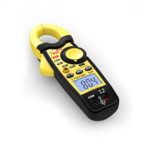 TROTEC Stromzange BE40ZangenampermeterMultimeterStrommessgerätPrüfer