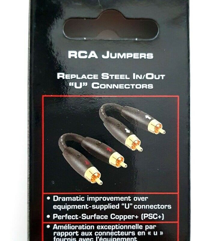 Kabler, Audioquest, RCA Jumpers