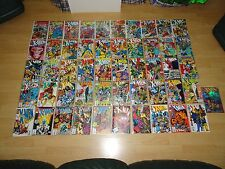 74 X-MEN comics (1991 Marvel 1st series) + X-CUTIONER'S SONG complete sealed