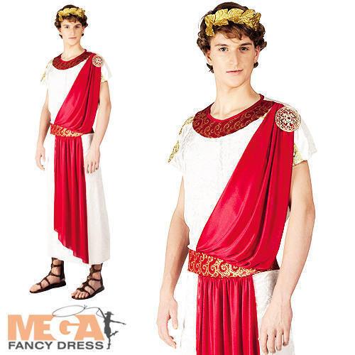 Roman Toga Mens Fancy Dress Grecian Ancient Historical Book Week Adults Costume