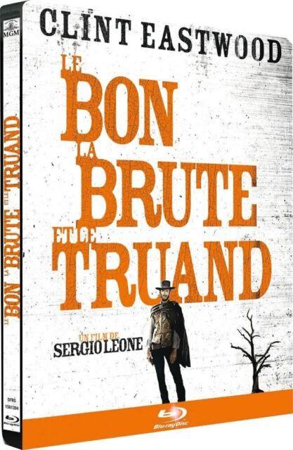 Blu Ray : Le bon la brute et le truand - Ed Steelbook - NEUF