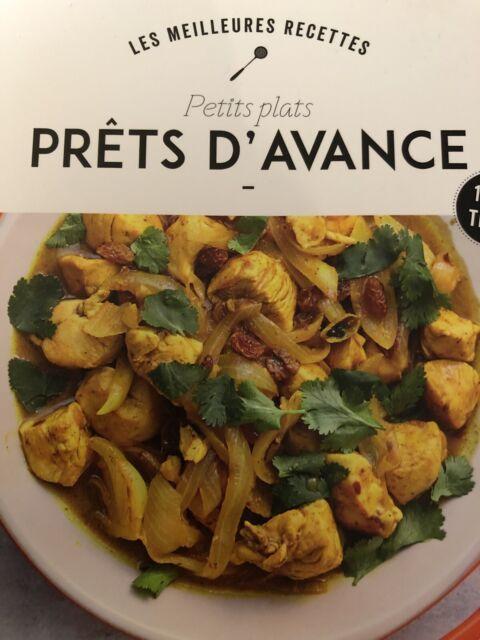 Collectif Les meilleures recettes petits plats prts davance Livre