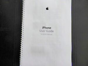 iphone 5s manual printed iphone 5s 5c 6 ios 8 1 user guide 11215