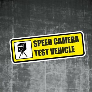 auto aufkleber speed camera tester sticker polizei kontrolle shocker jdm ad015 ebay. Black Bedroom Furniture Sets. Home Design Ideas