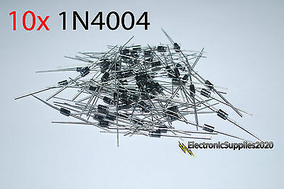 1 Amp 1000 Volt 10 pcs US Fast Shipping 1N4007 Rectifier Diode