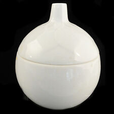 """LOTUS WHITE Rosenthal Porcelain Covered Sugar 4""""tall NEW NEVER USED Made Germany"""
