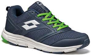 SCARPE-LOTTO-SPEEDRIDE-500-running-jogging-uomo-blu-S7559
