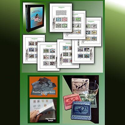 US Duck Color Stamp Album SPECIAL EDITION