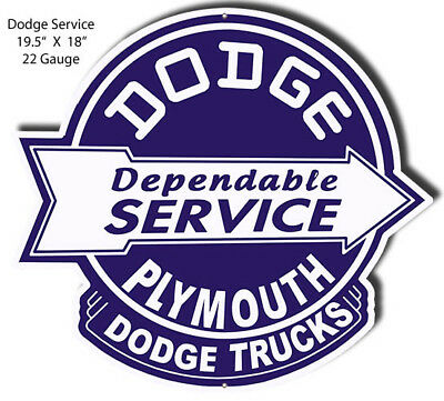 Dodge Plymouth Laser Cut Out Garage Shop Metal Sign 18x19.5