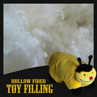 100% Hollowfibre Stuffing Filling For Toys & Cushions Premium Grade UK Made