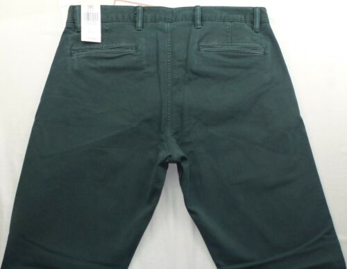 Dockers Men/'s Pants Slim Tapered Fit 34 36 38 36 40 42 x 30 32 Green Washed New