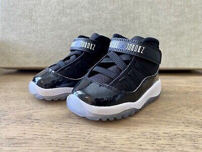 Jordan 11 Retro Space Jam Infant 5c Black / Concord Baby Shoes Sneakers   eBay