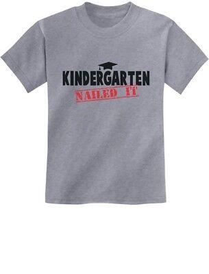Kindergarten Graduate Funny Graduation Gift Idea Youth Kids T-Shirt Cute
