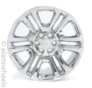 4-NEW-GMC-Sierra-Yukon-Denali-Factory-OEM-Chrome-22-Wheels-Rims-Lug-Nuts-CK158