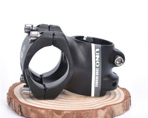 UNO Aluminum MTB Mountain Road XC Bike Bicycle handlebar 0° Short Stem 31.8*35mm