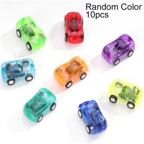 Kids Small Mini Toys Classic Truck Vehicle Pull Back Car Educational