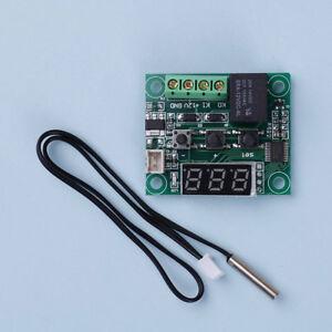 Mini-50-110-C-W1209-Digital-thermostat-Temperature-Control-Switch-12V-sen-VU