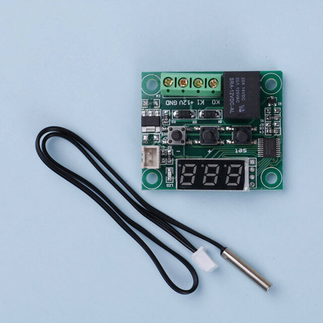 Mini -50-110°C W1209 Digital thermostat Temperature Control Switch 12V sensH JC