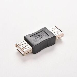 USB-2-0-Type-A-Female-to-Female-Adapter-Coupler-Gender-Changer-Connector-kdJ-u