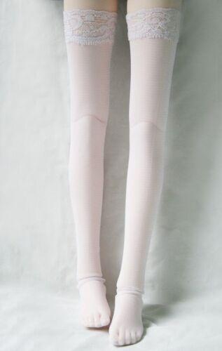 12# White Fishnet Stockings//Socks For 1//3 SD AOD DZ BJD Dollfie PF