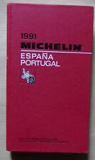 guide MICHELIN rouge ESPANA PORTUGAL 1991 (exemplaire n° 2)