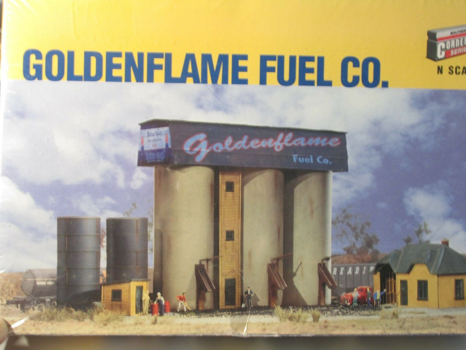 WALTHERS  goldENFLAME FUEL CO. KIT LOT B N SCALE